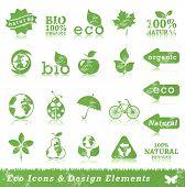 Постер, плакат: Гранж экологии икона set