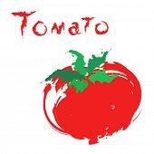 Постер, плакат: Мультфильм помидор
