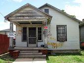 pic of katrina  - A house in the 9th Ward damaged by Katrina - JPG