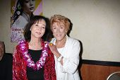 LOS ANGELES - AUG 4:  Nancy Kwan, Jeanne Cooper appearing at the