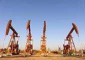 stock photo of oilfield  - oilfield - JPG