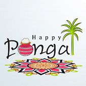 picture of rangoli  -  Happy Pongal - JPG