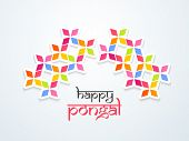 image of pongal  - Beautiful Happy Pongal - JPG