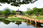 image of seoul south korea  - Emperor palace at Seoul - JPG