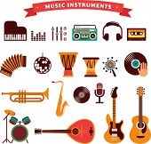 stock photo of equality  - musical instruments - JPG