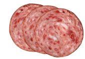 Food Slices Of Salami - Spicy Fatty Unhealthy Meat poster