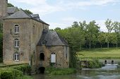 stock photo of water-mill  - water mill in the countryside - JPG
