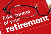 stock photo of retired  - Focus on and take control of your retirement - JPG