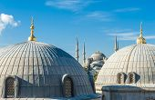 pic of cupola  - Blue Mosque  - JPG
