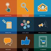picture of newsletter  - marketing social media seo  - JPG
