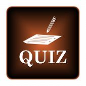 foto of quiz  - Quiz icon - JPG