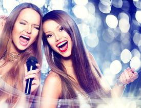 foto of karaoke  - Karaoke party - JPG