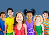 picture of diversity  - Kids Children Diversity Happiness Group Cheerful Concept - JPG