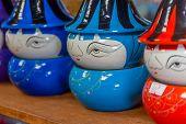 foto of paint pot  - decorated pot - JPG