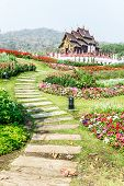 image of royal botanic gardens  - Traditional Thai Architecture In The Lanna Style  - JPG