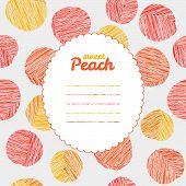 pic of peach  - Text frame - JPG