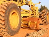 picture of heavy equipment  - heavy earth moving equipment - JPG