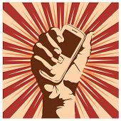 Постер, плакат: Сотовый телефон