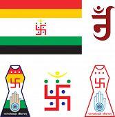 image of swastik  - Jain Emblem - JPG