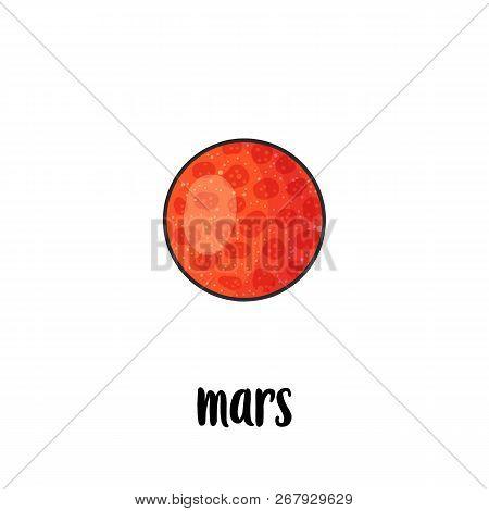 Solar System Planet Hand Drawn