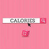 Writing Note Showing Calories. Business Photo Showcasing Energy Released By Food As It Is Digested B poster
