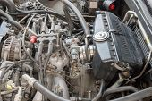 Car Engine Repairing, Parts Of The Car Engine poster