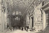 picture of luigi  - Antique illustration of the Sala Regia - JPG