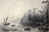 picture of luigi  - Antique illustration of Sorrento - JPG