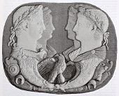 pic of cameos  - Onix cameo of Vienna Imperial government cabinet - JPG