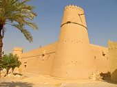 image of riyadh  - Al Masmak fort in the Riyadh city - JPG