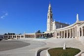 stock photo of fatima  - A huge tower and a marble colonnade around the square - JPG