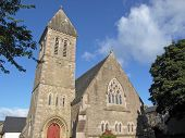 stock photo of bute  - Cardross parish church - JPG