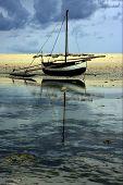 Постер, плакат: Лодка и рефлекс