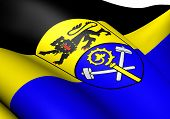 Постер, плакат: Флаг Вайльхайм Шонгау Германия