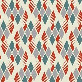 seamless retro diamond pattern 1