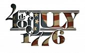 picture of betsy ross  - Typographic art cut - JPG