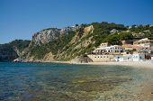 foto of costa blanca  - One of the many small beaches dotting Costa Blanca Spain - JPG