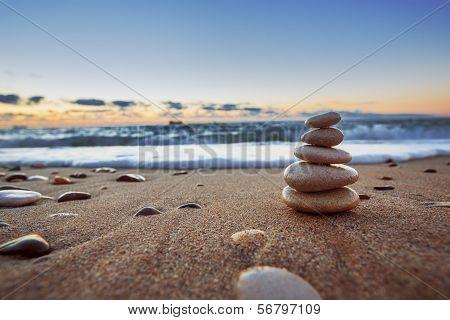 Stones Balance poster