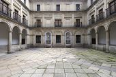 Courtyard of the fountainheads; Royal Monastery of El Escorial; San Lorenzo de El Escorial; Madrid;