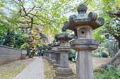 stock photo of shogun  - Toshogu Shrine at Ueno Park in Tokyo - JPG
