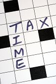 foto of cpa  - The tax time for the income tax return - JPG
