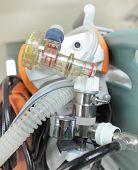 stock photo of respiratory disease  - Valve portable breathing apparatus - JPG