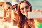 stock photo of beach hat  - summer vacation - JPG