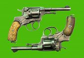 stock photo of revolver  - Old weapons - JPG