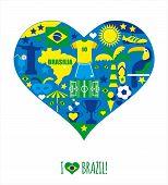 foto of carnival brazil  - Brazil icon set - JPG