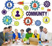 image of population  - Community Culture Society Population Team Tradition Union Concept - JPG