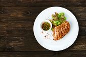 foto of chicken  - Restaurant food  - JPG