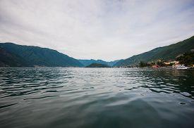 stock photo of italian alps  - Como lake district - JPG
