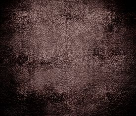 pic of taupe  - Grunge background of deep taupe leather texture for design - JPG