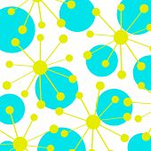 Постер, плакат: Абстрактный круги дизайн